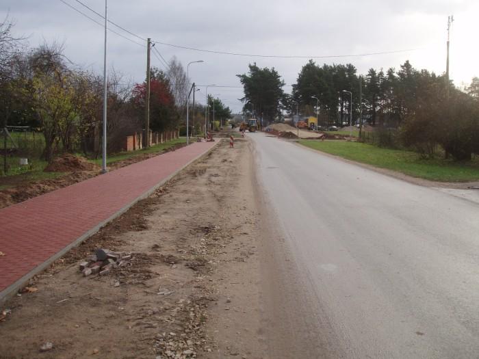 Pirmā iela stacijas tuvumā, kuru pabeidzot varēja izveitot Park-N-Ride stāvvietas